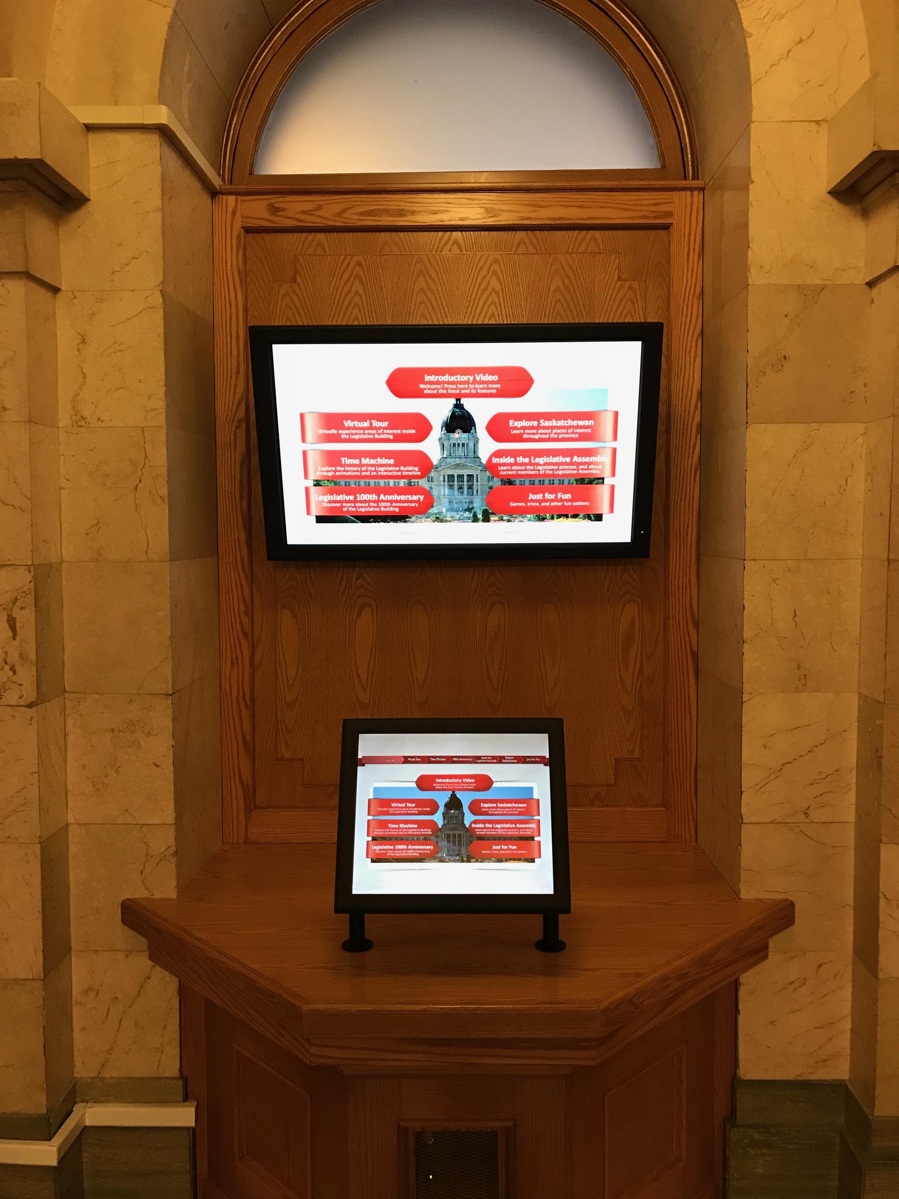 legislative kiosk